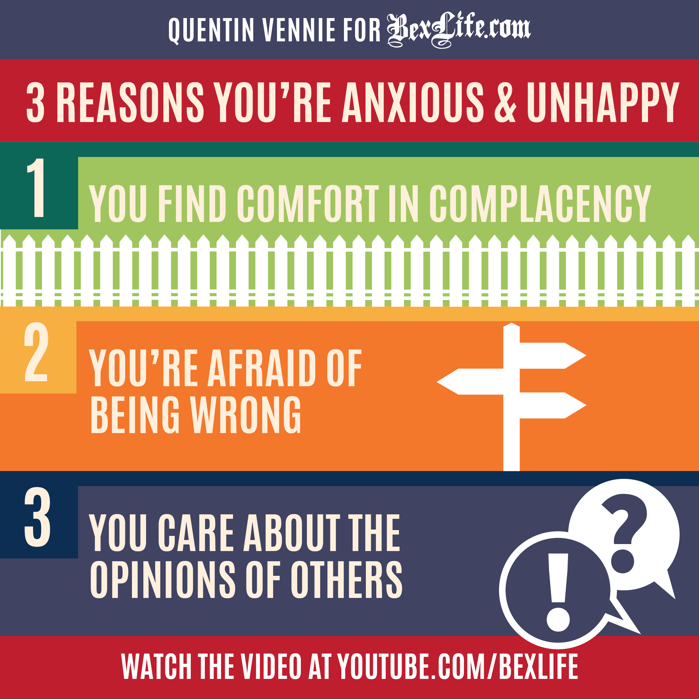 what causes unhappiness in life